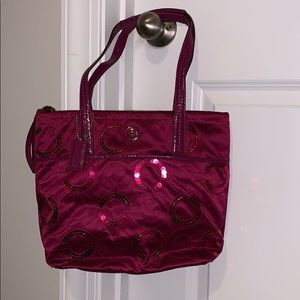 Coach purse in color passion berry- NWT